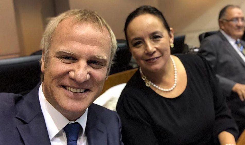 Senadores Carmen Gloria Aravena y Felipe Kast inauguraron sedes parlamentarias en Malleco