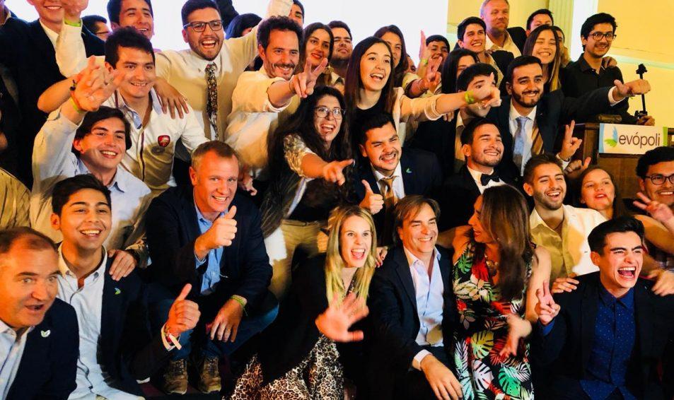 """Evópoli agradece a Presidente Piñera el haber propiciado """"diversidad"""" de la centroderecha"""