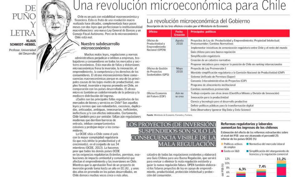 Una revolución microeconómica para Chile