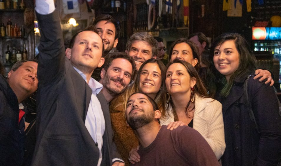 Directiva nacional Evópoli lanzó plan de #LíderesDescomunales en Valparaíso