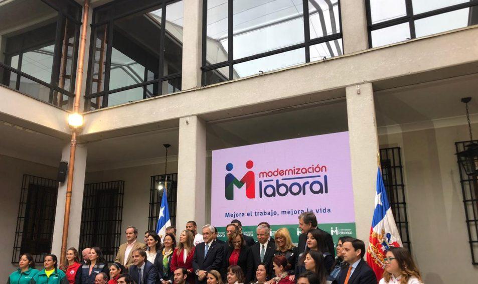 Evópoli participó en la presentación del proyecto de ley que busca fomentar la empleabilidad y la vida familiar