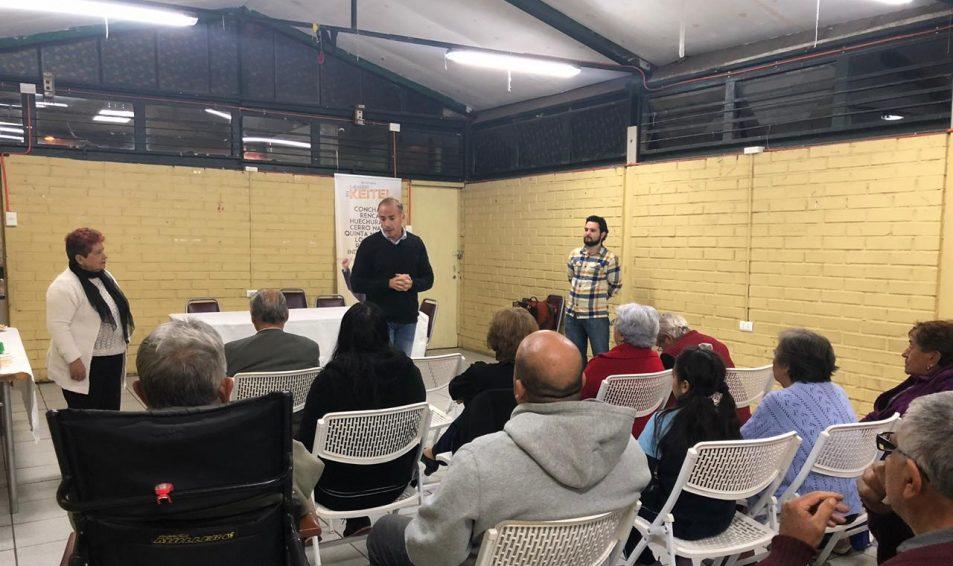Diputado Sebastián Keitel presentó plan de #LíderesDescomunales en Conchalí