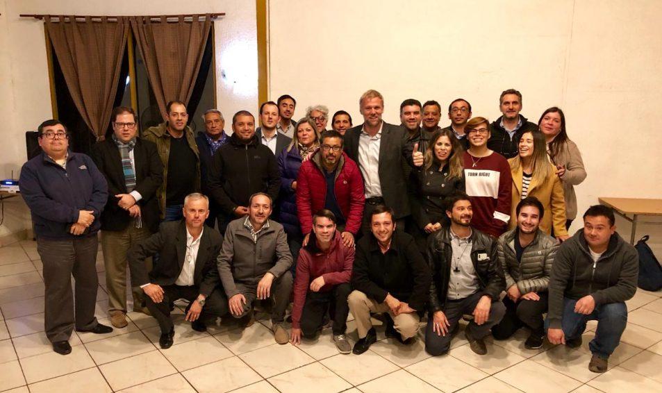 """Pablo Kast  lanza campaña """"Líderes Descomunales"""" en Valle de Aconcagua para que ciudadanos participen en elecciones del 2020"""