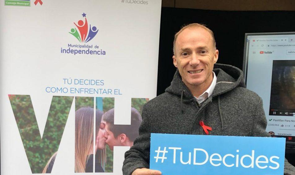 Diputado Sebastián Keitel participó de la Campaña #TuDecides en Independencia