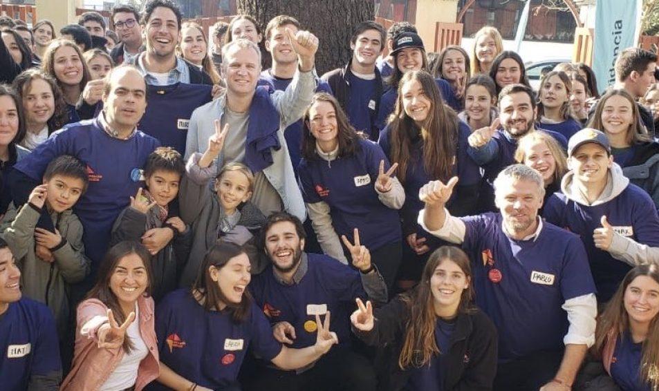 150 jóvenes participan de nueva jornada de Operación Infancia