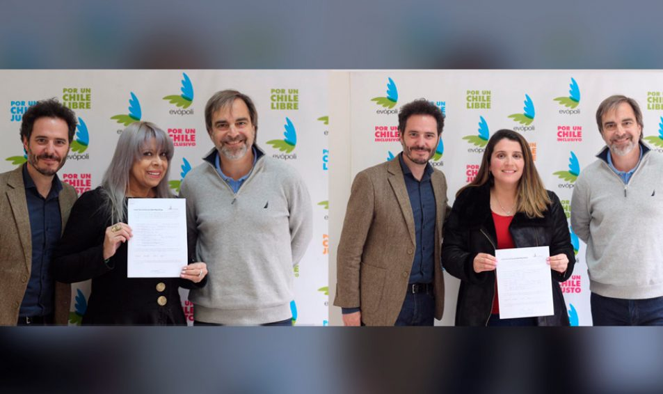 Magali Acevedo y Macarena Zamorano: Dos concejalas se suman a Evópoli