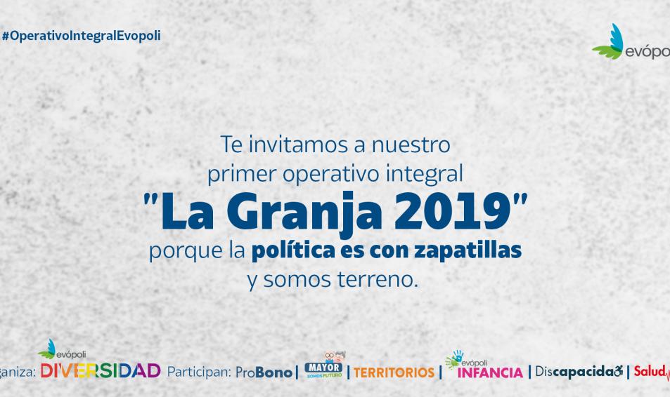 Las causas invitan al primer operativo integral «La Granja 2019»