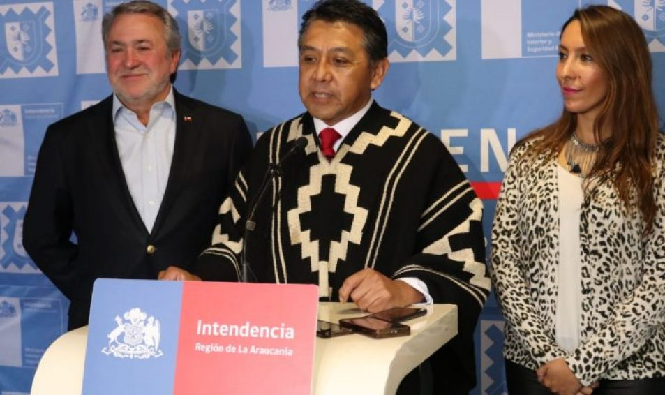 Quién es Richard Caifal, el líder mapuche que asumió como intendente de La Araucanía