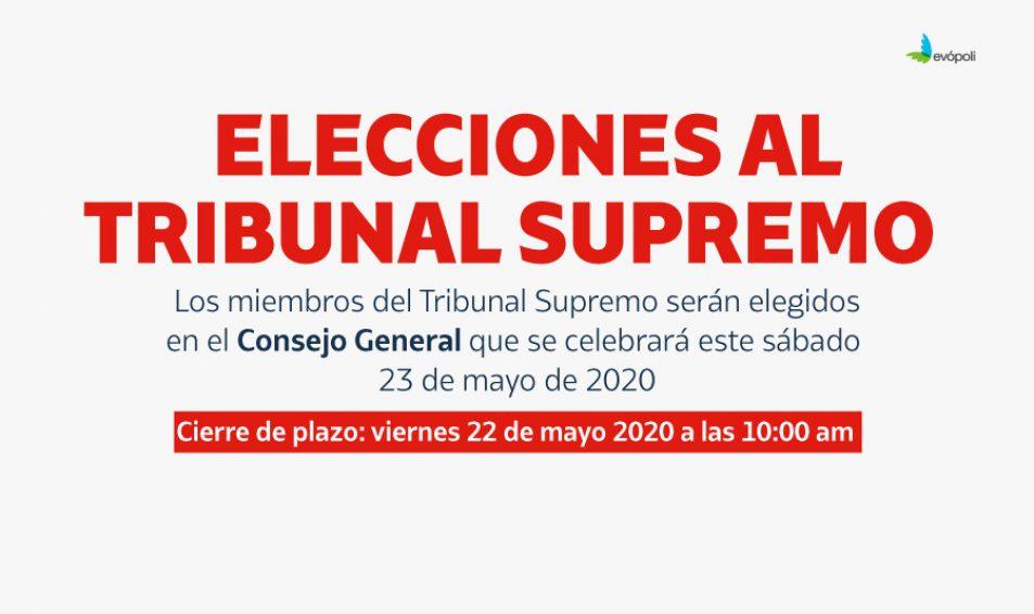 Lista de candidatos a Tribunal Supremo Evópoli