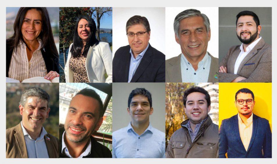 CONOCE A LOS PRESIDENTES REGIONALES ELECTOS PARA EL PERIODO 2020-2022