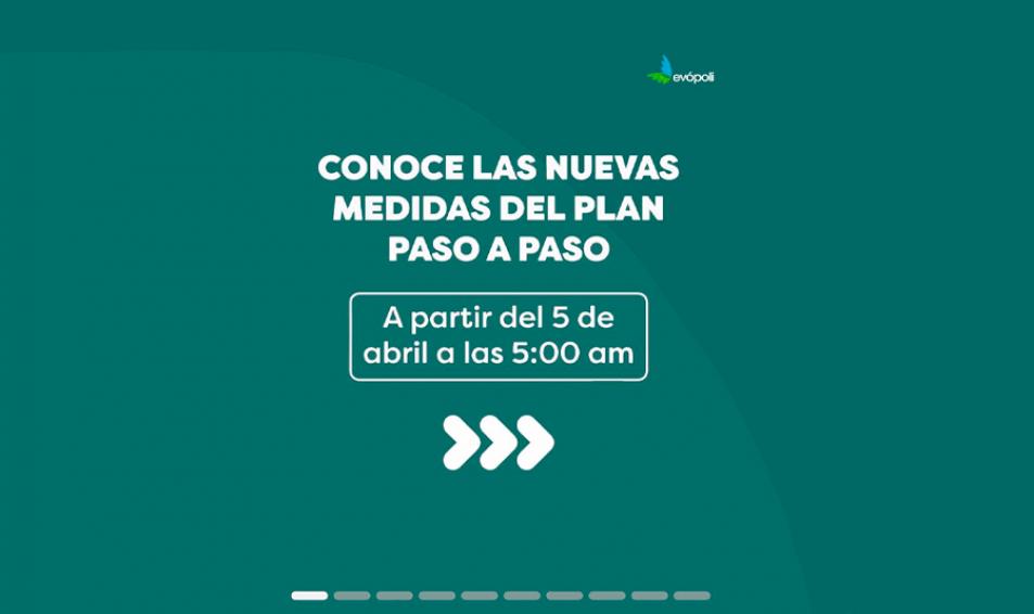 GOBIERNO IMPLEMENTA NUEVAS MEDIDAS PARA PREVENIR EL ALZA DE CONTAGIOS POR COVID19