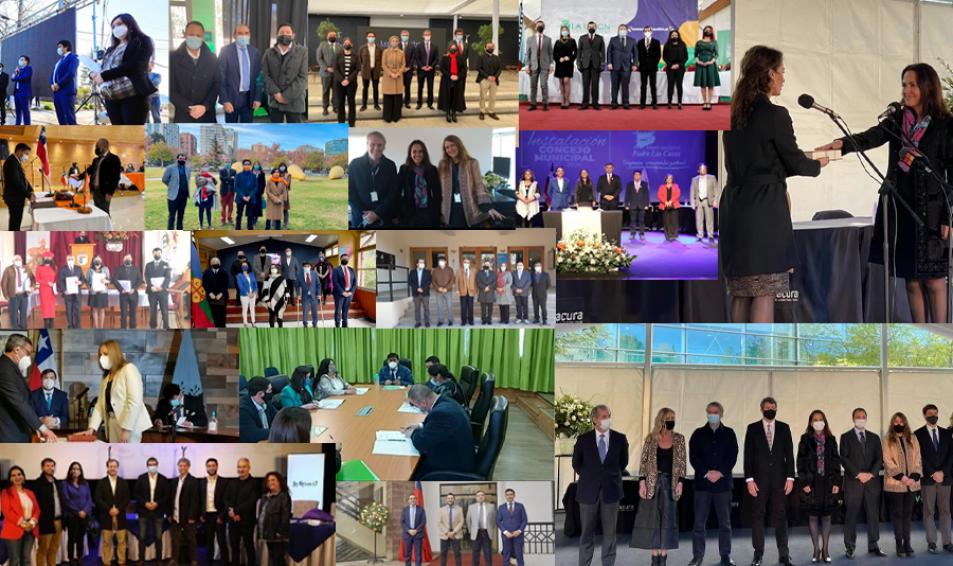 61 LÍDERES DESCOMUNALES EVÓPOLI ASUMIERON DE MANERA OFICIAL COMO CONCEJALES