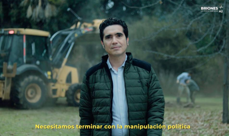 LANZAMIENTO DE FRANJA TELEVISIVA DEL CANDIDATO IGNACIO BRIONES