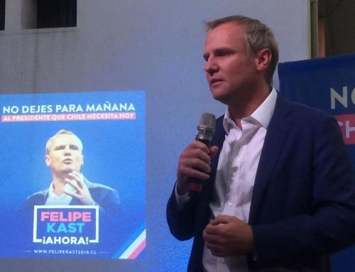 Felipe Kast lanzó comando de campaña presidencial llamando a debatir ideas