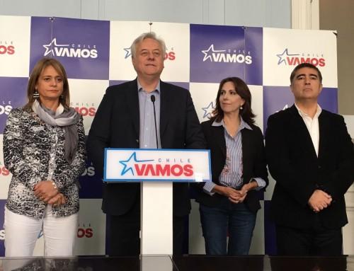 Chile Vamos confirma e insta a acuerdo para el congreso