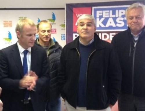 Felipe Kast suma a Nicolás Larraín y Paul Fontaine a su campaña