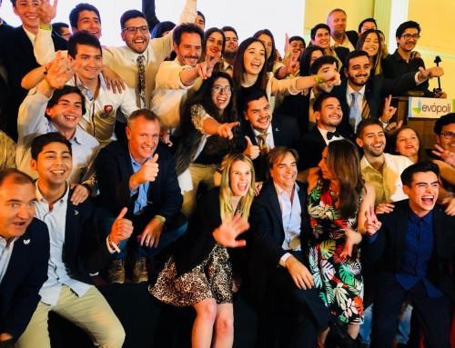 "Evópoli celebra sus 6 años e impulsa plan ""Chile Justo"" como nueva bandera"